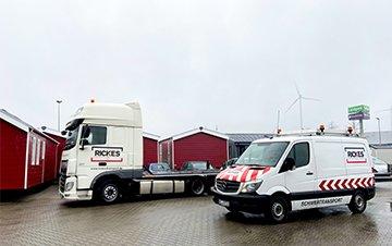 Sattelzugmaschine und BF3-Fahrzeug